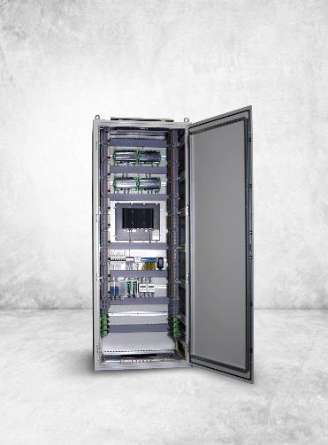 Шкафы телемеханики ТМ и коммерческого учёта электроэнергии индивидуальной сборки