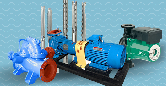 Насосы для воды и агрегаты в Уралэнерготел