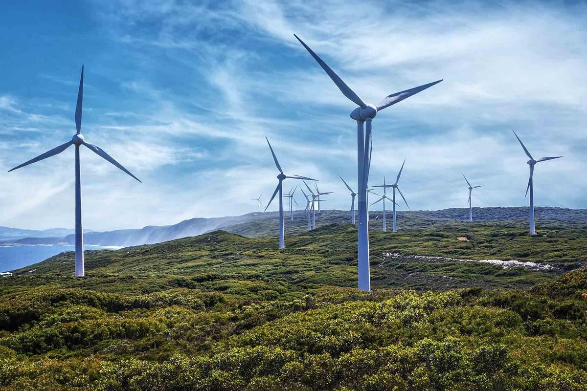 Поставка оборудования на новую ветряную электростанцию