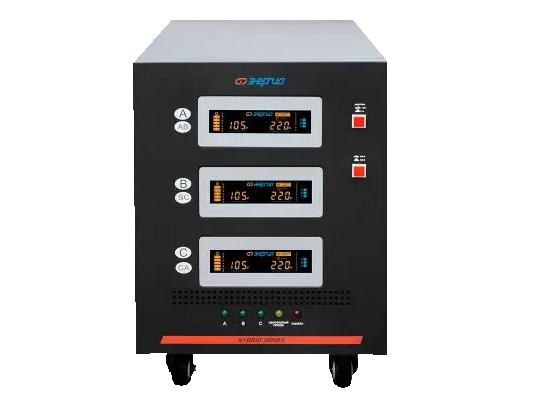 Стабилизатор напряжения Энергия Hybrid II 30000, 220В, 30000ВА